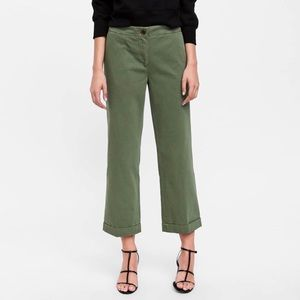 Zara smart Jogging Crop Pant